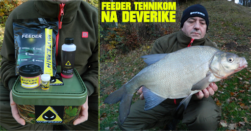 Zimski ribolov feeder deverika