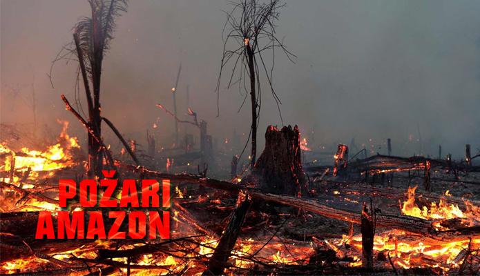 Amazon - Amazonija pozari