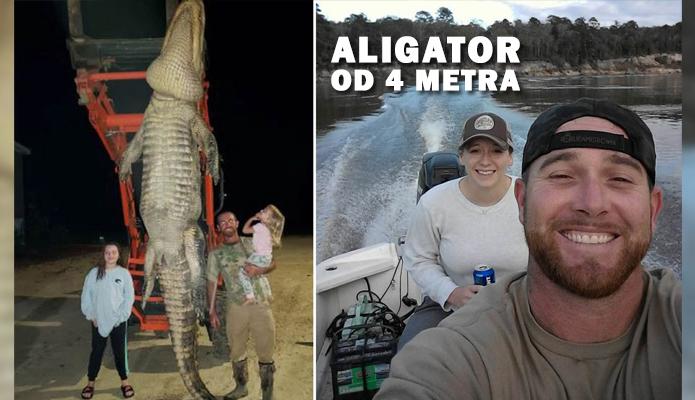 Ribolovac ulovio Aligatora